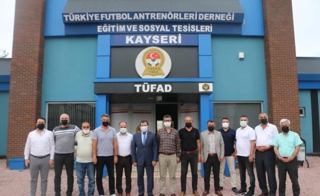 Ali İhsan Kabakcı'dan TÜFAD'A ziyaret
