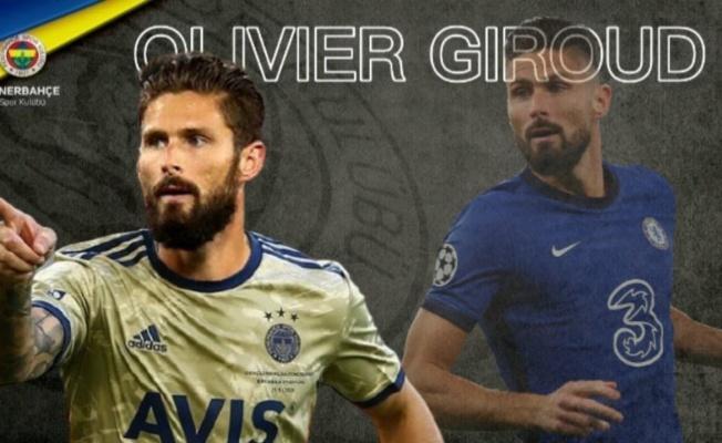 Fenerbahçe Olivier Giroud'u kadrosuna kattı!.