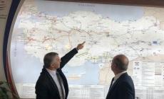 Kayseri Ankara Demir Yolu Projeleri Ankara'da Masaya Yatırıldı