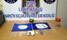 Kayseri'de metamfetamin ve bonzai operasyonu!