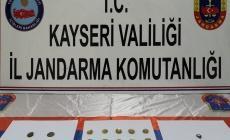 Kayseri'de Bizans dönemine ait altın sikkeler ele geçirildi!