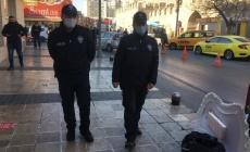 Kayseri'de korona virüs denetimleri sürüyor