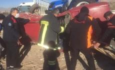 Kayseri'de feci kaza: 3 yaralı!
