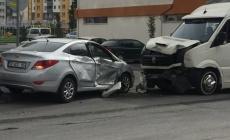 Trafik kazası: 4 yaralı!